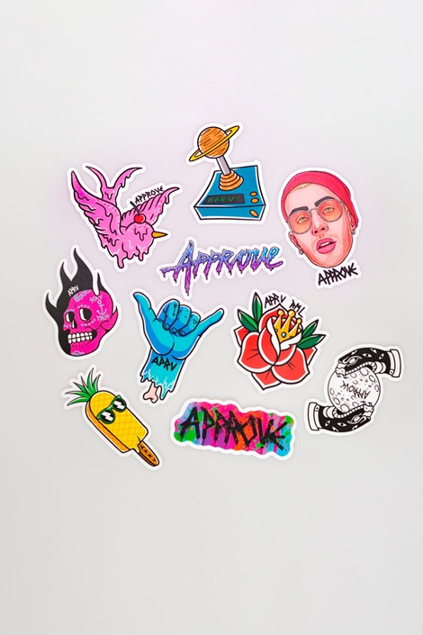 Adesivos Approve Sticker Pack 10 Cool