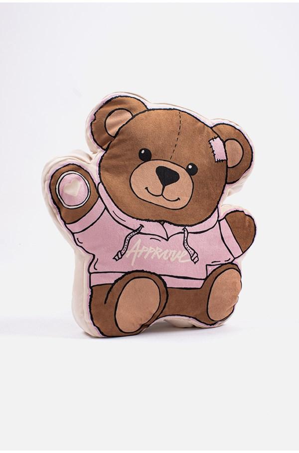 Almofada Approve Bear Rosa