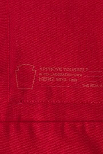 Avental + Guardanapo de Tecido Approve X Heinz Vermelho