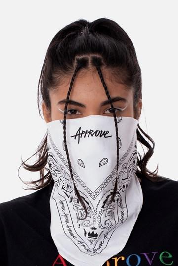 Bandana Approve x LP Vai Branca