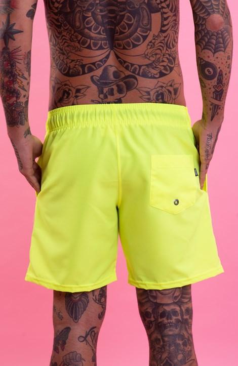 Bermuda Approve Amarelo Neon