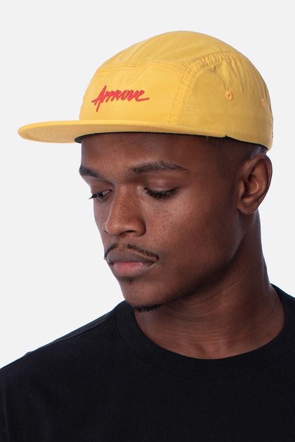 Boné 5Panel Approve Pixels&Pills Amarelo
