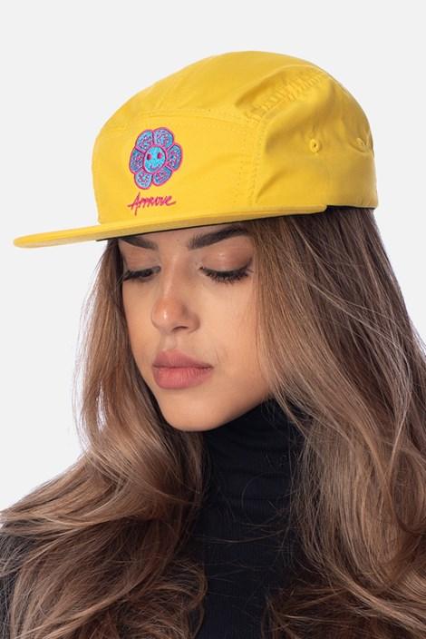 Boné 5panel Approve Psychedelic Amarelo