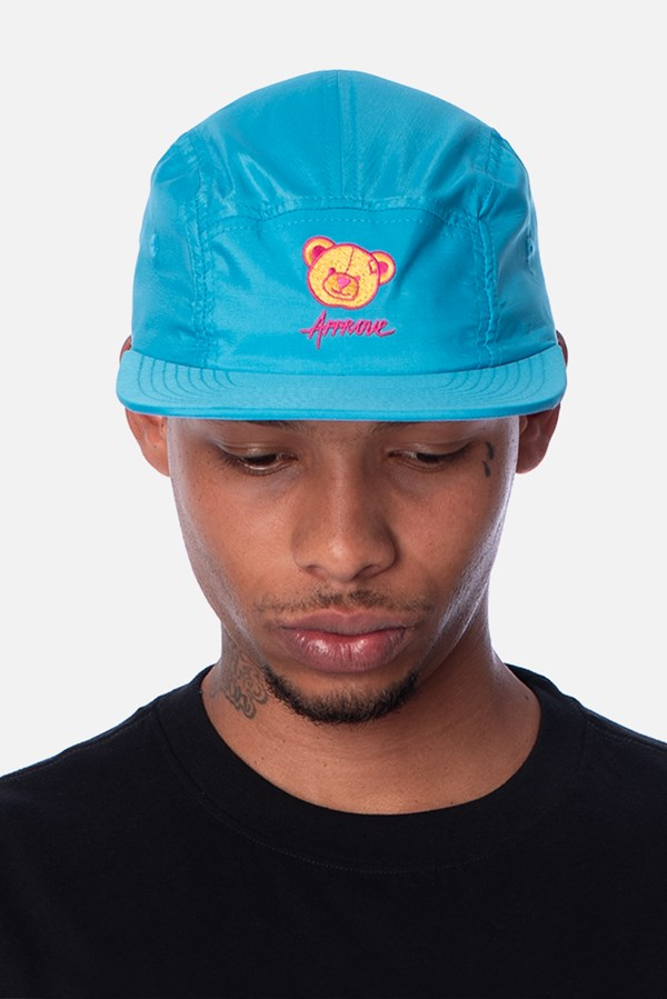 Boné 5panel Approve Psychedelic Azul