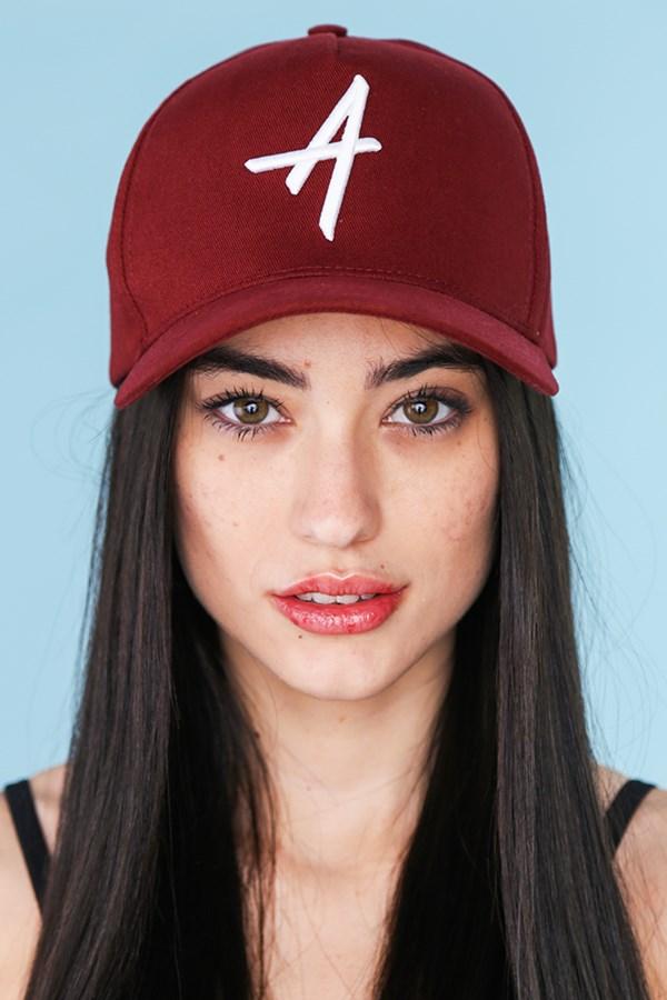 Boné Approve Baseball Hat Bordô
