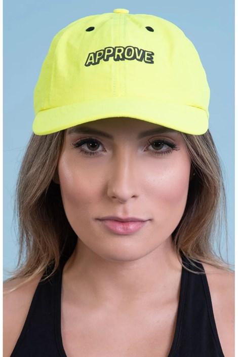 Boné Approve Dad Hat Amarelo Neon