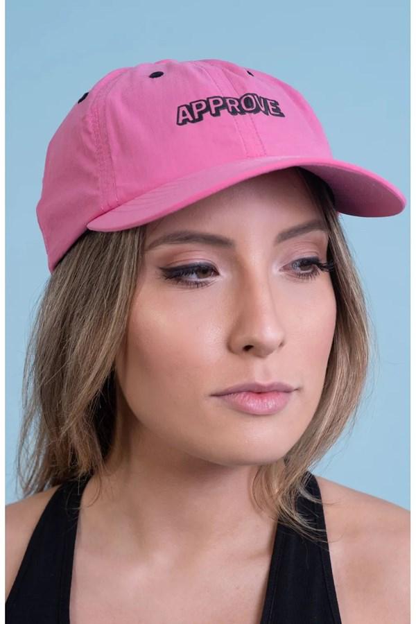 Boné Approve Dad Hat Rosa Neon
