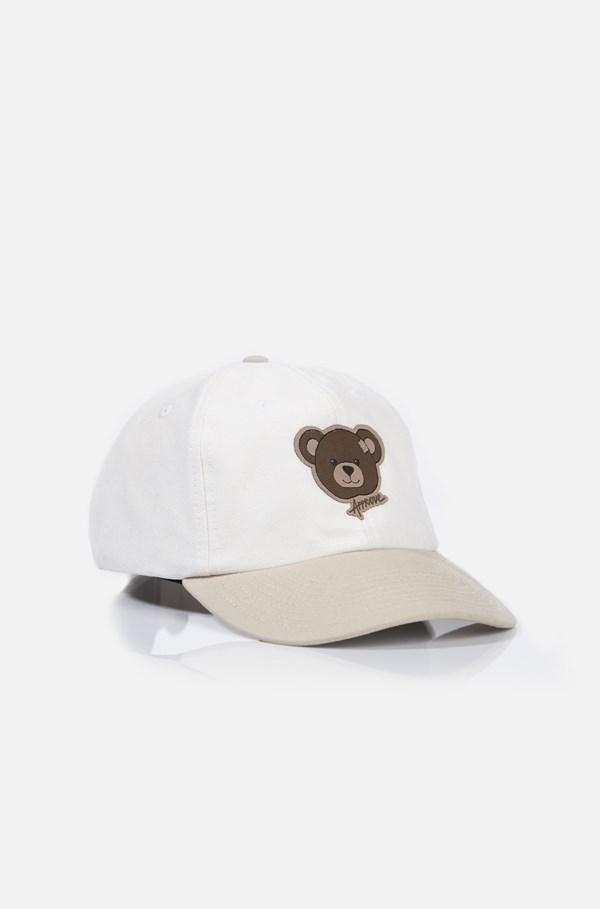 Boné Dad Hat Approve Bear Off White E Bege