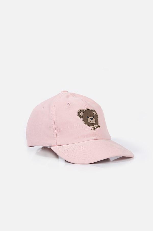 Boné Dad Hat Approve Bear Rosa