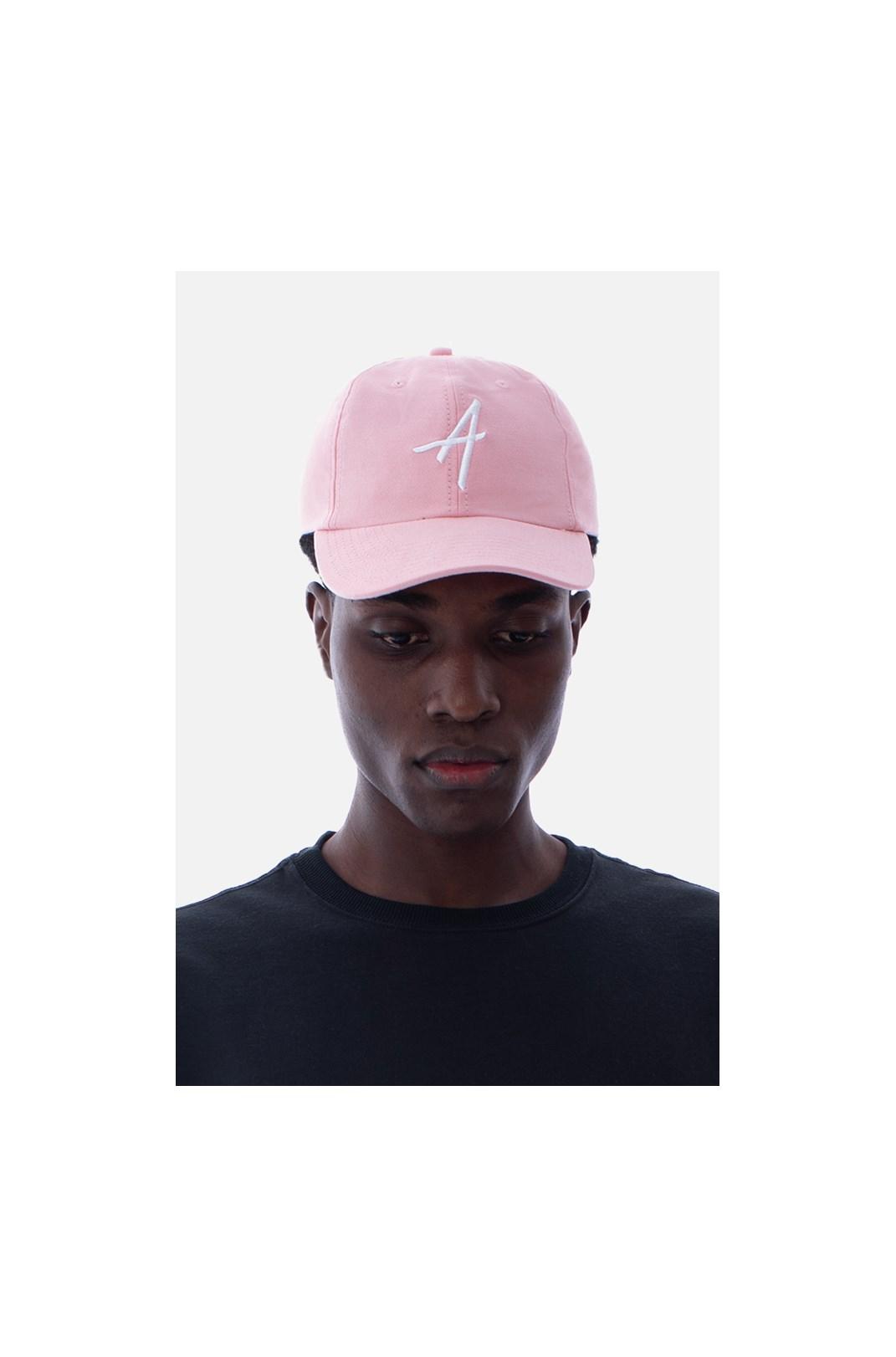 Boné Dad Hat Approve Classic Rosa E Branco V2
