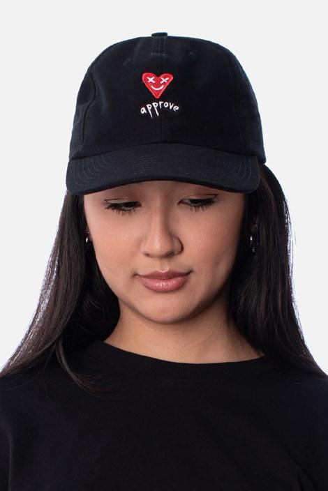Boné Dad Hat Approve Lp Heart Preto