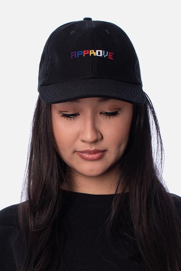 Boné Dad Hat Approve Pixels&Pills Preto