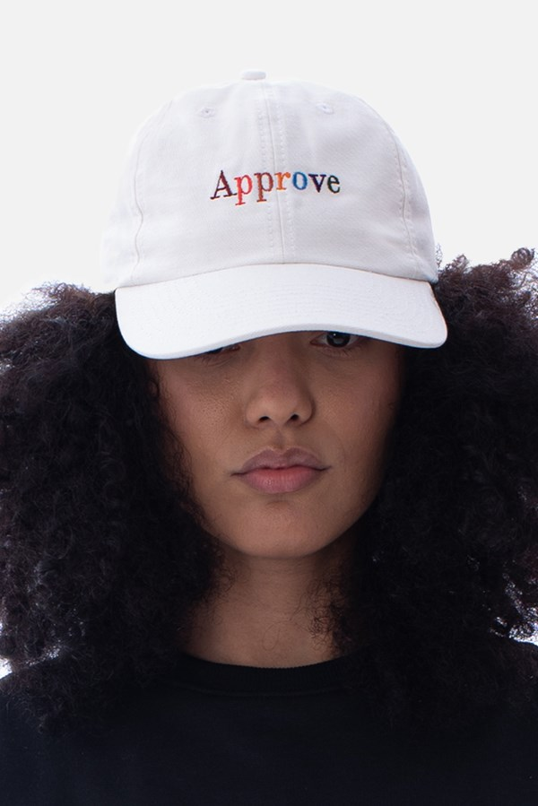 Boné Dad Hat Approve Rainbow Off White