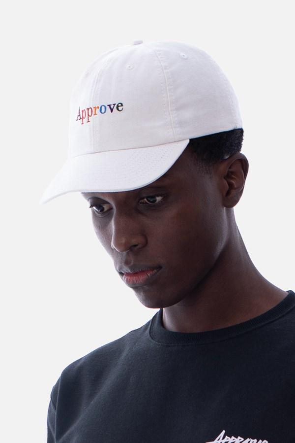Boné Dad Hat Approve Rainbow Off White