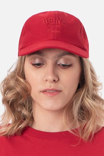Boné Dad Hat Approve X Heinz Vermelho