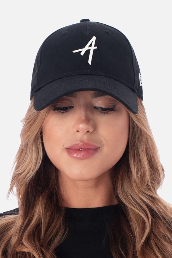 Boné Dad Hat Approve X New Era Classic Preto E Branco V2