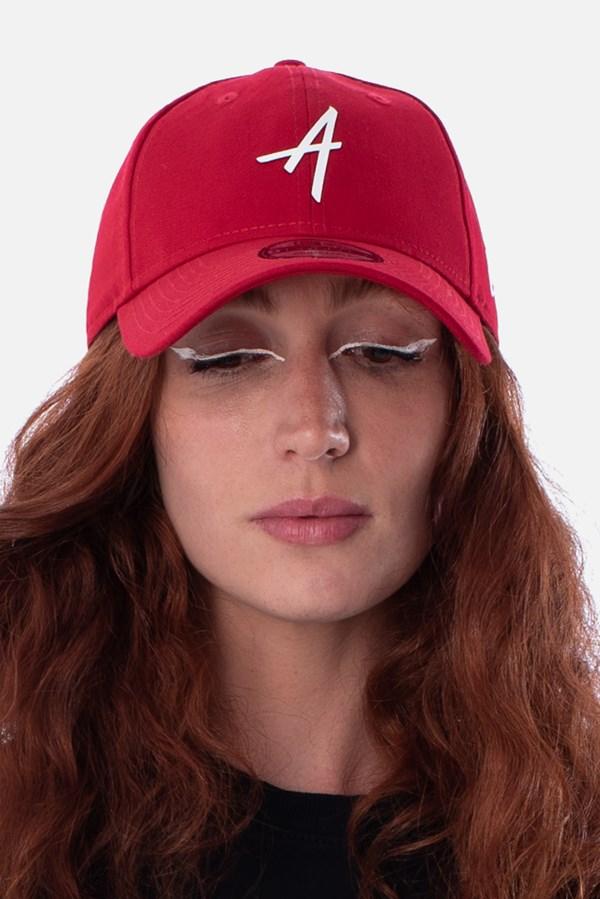Boné Dad Hat Approve X New Era Classic Vermelho E Branco V2