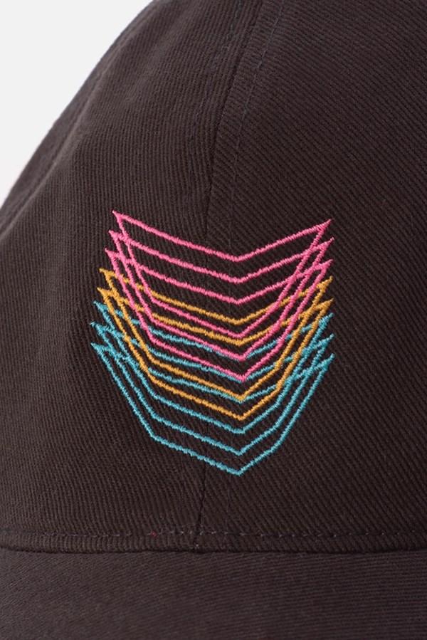 Boné Dad Hat Approve X Vintage Cali Dreams Cinza Chumbo