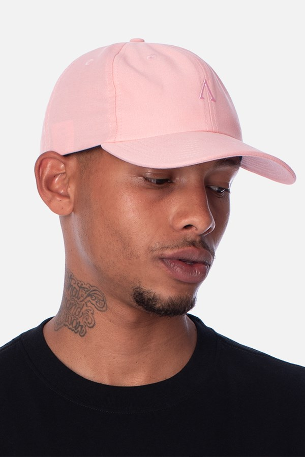 Boné Sarja Dad Hat Approve Canvas Rosa