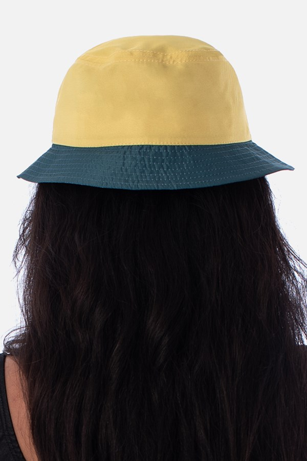 Bucket Approve Cartoon Amarelo Neon e Azul Marinho