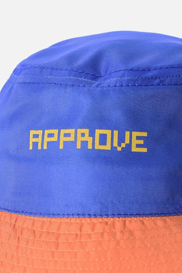 Bucket Approve Pixels&Pills Azul e Amarelo