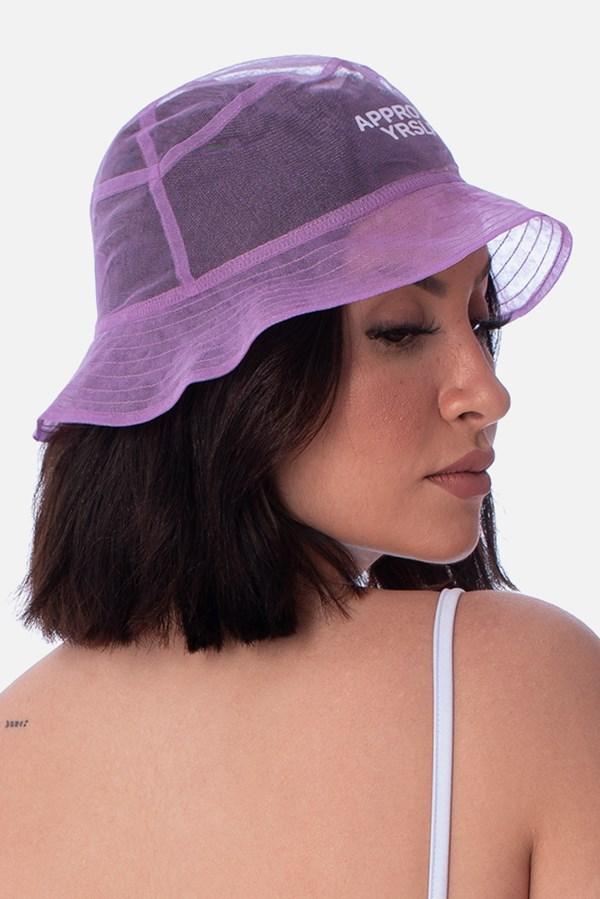 Bucket Translúcido Approve X Boca Rosa Lilás