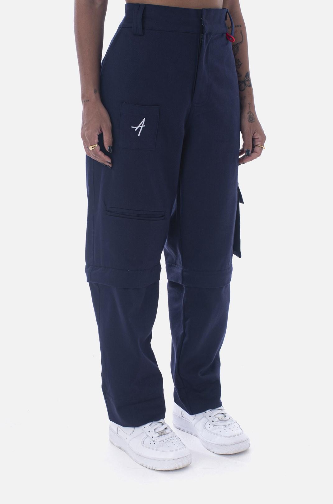 Calça Cargo Approve Workwear Azul Marinho