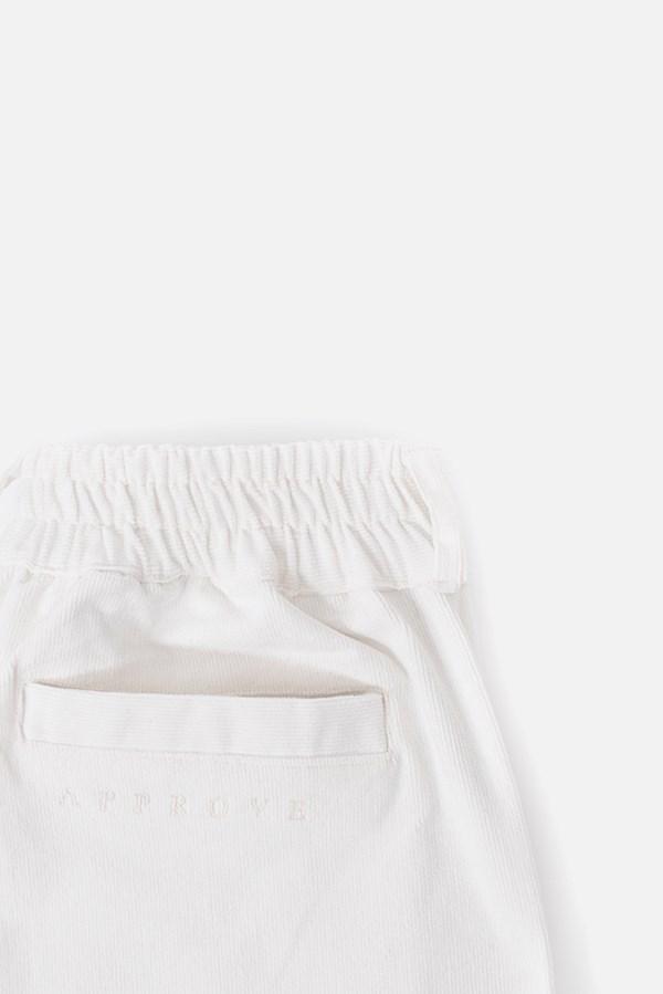 Calça Cotelê Approve Canvas III Branca