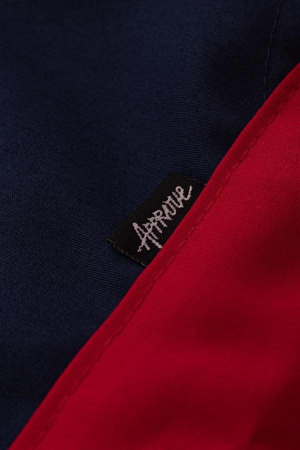 Calça Jogger Approve Big Logo Vermelho e Azul Marinho
