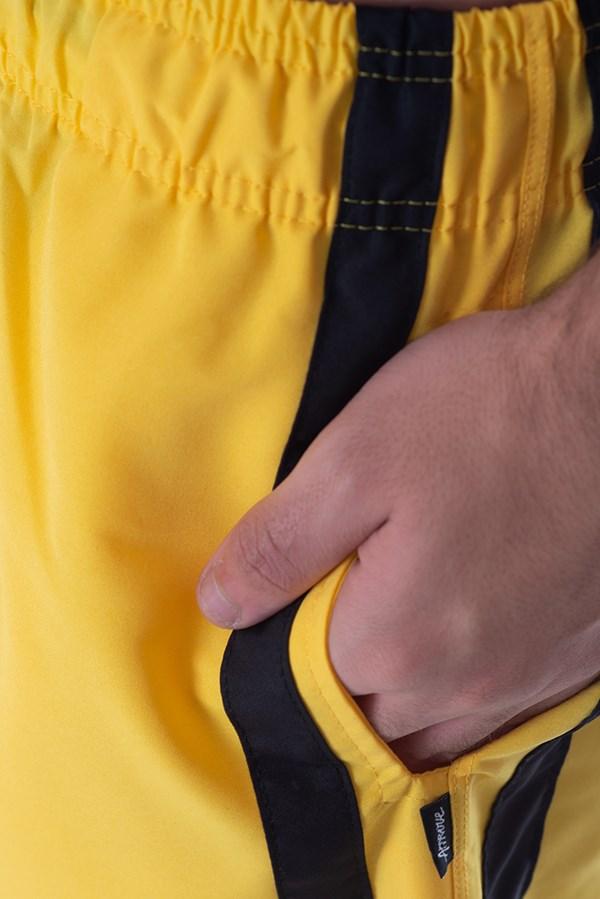Calça Jogger Approve Classic Amarelo e Preto