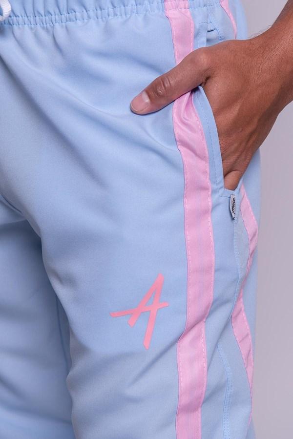 Calça Jogger Approve Classic Azul e Rosa