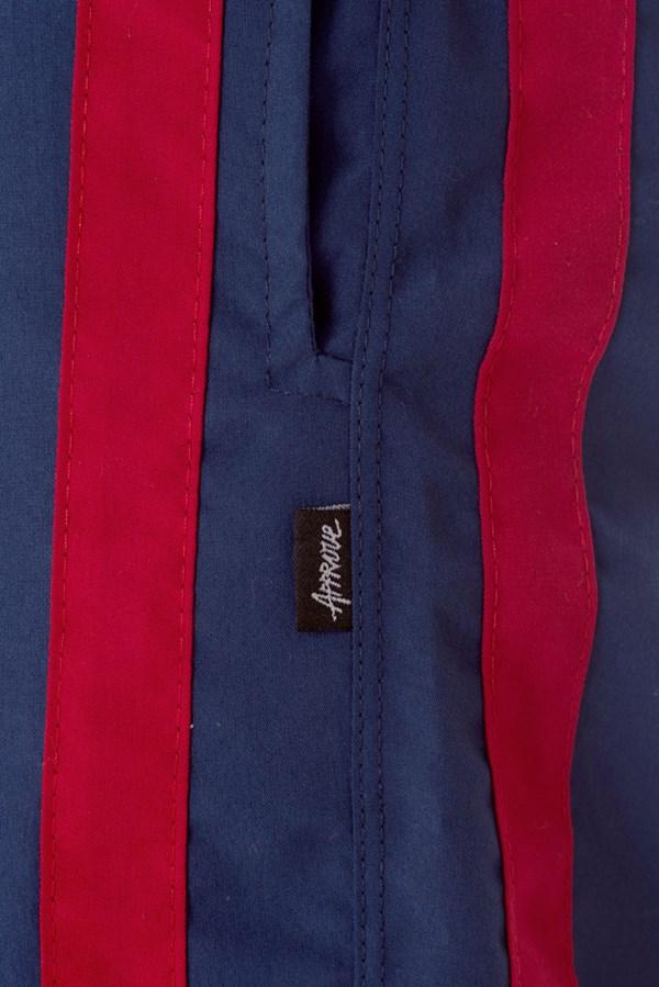 Calça Jogger Approve Classic Azul Marinho e Vermelho