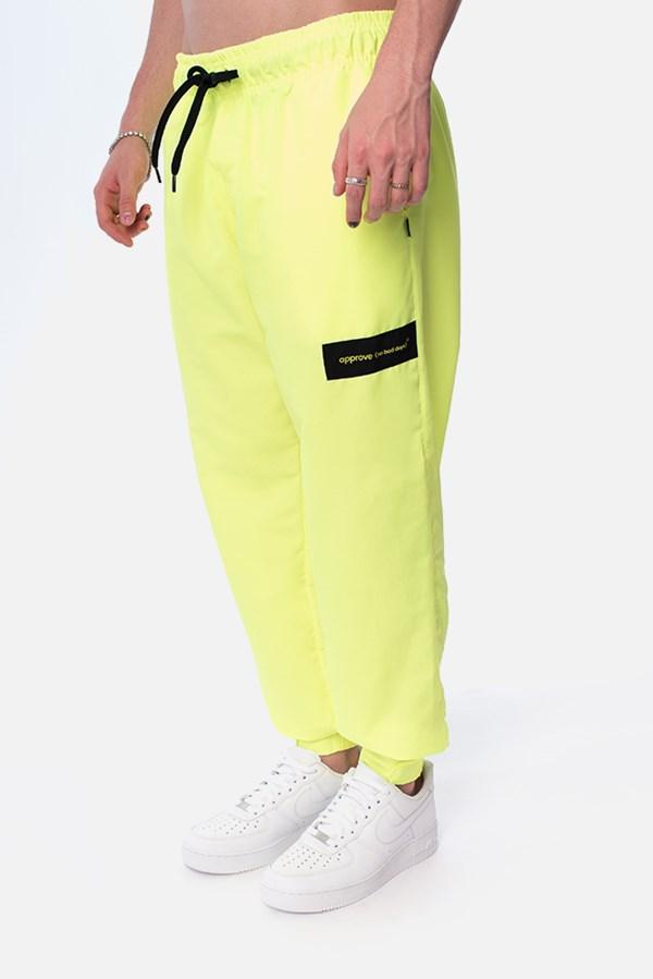 Calça Jogger Approve Reference Amarelo Neon