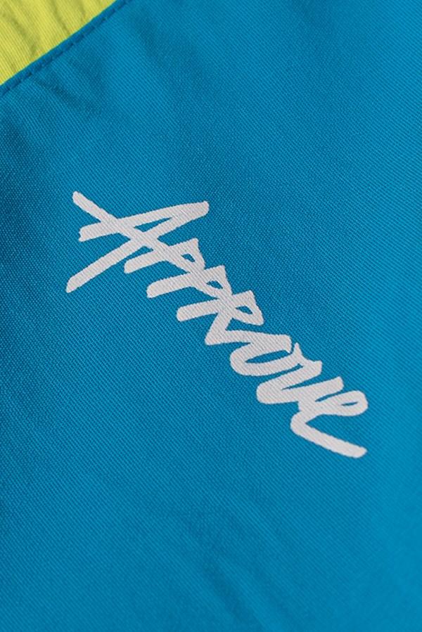 Calça Jogger Approve Retropia Azul e Off White