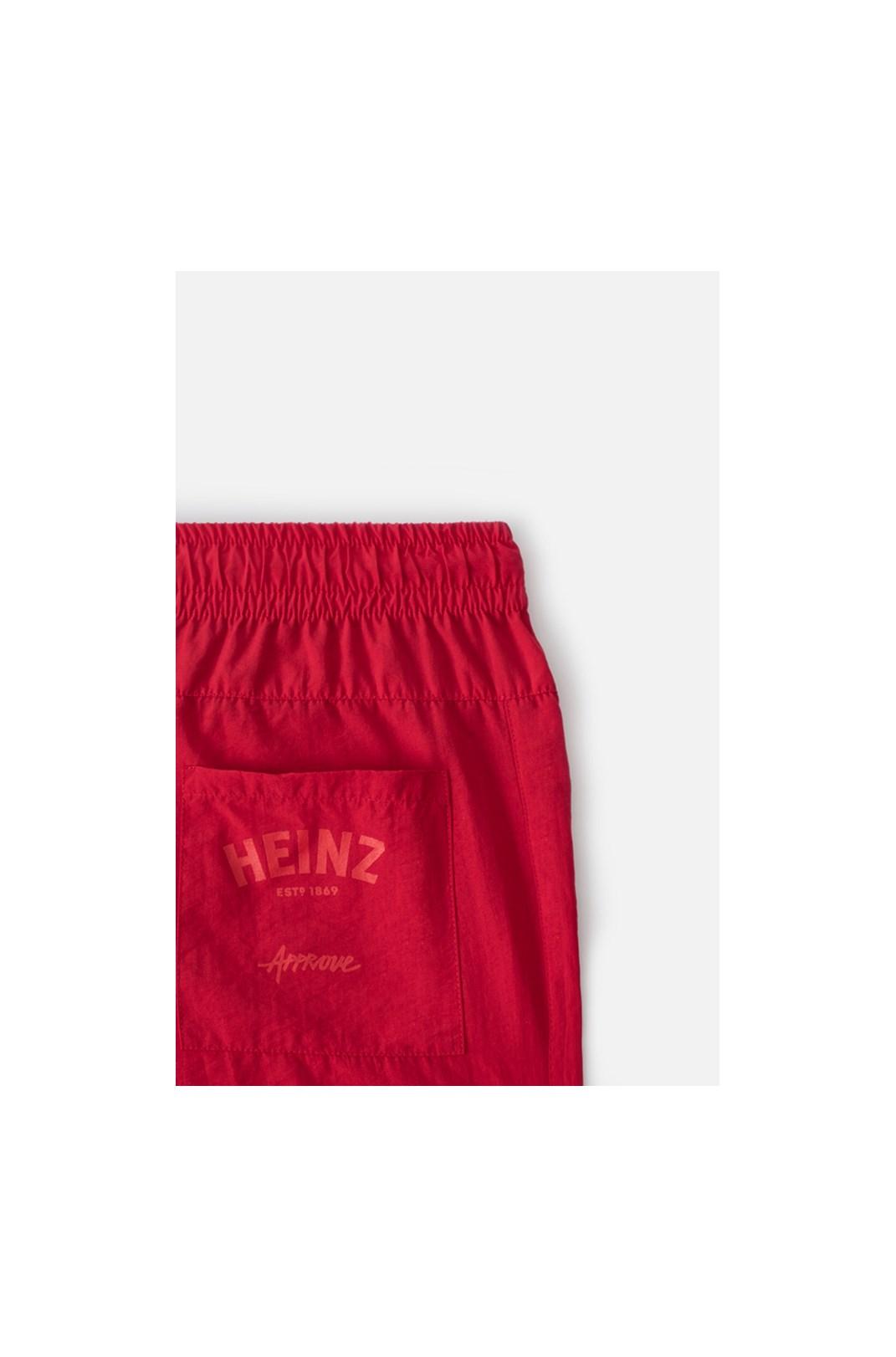 Calça Jogger Approve X Heinz Vermelha