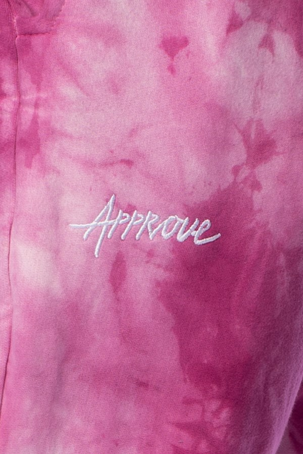 Calça Moletom Approve Tie Dye Purple Cloud Roxa