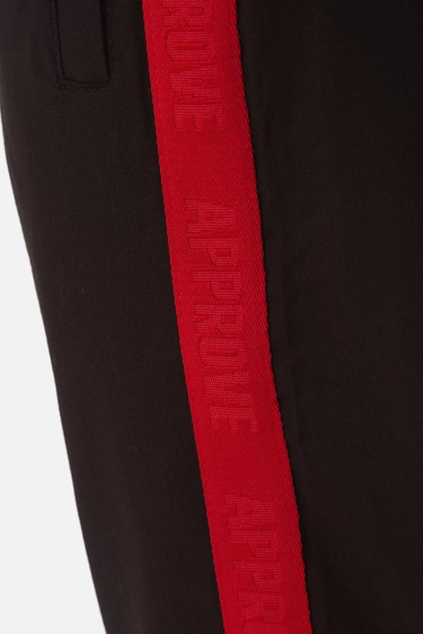 Calça Sarja Approve Canvas com Faixa Vermelha
