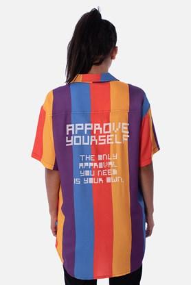 Camisa Approve Pixels&Pills Listrada Color