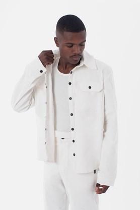 Camisa Cotelê Approve Canvas III Branca
