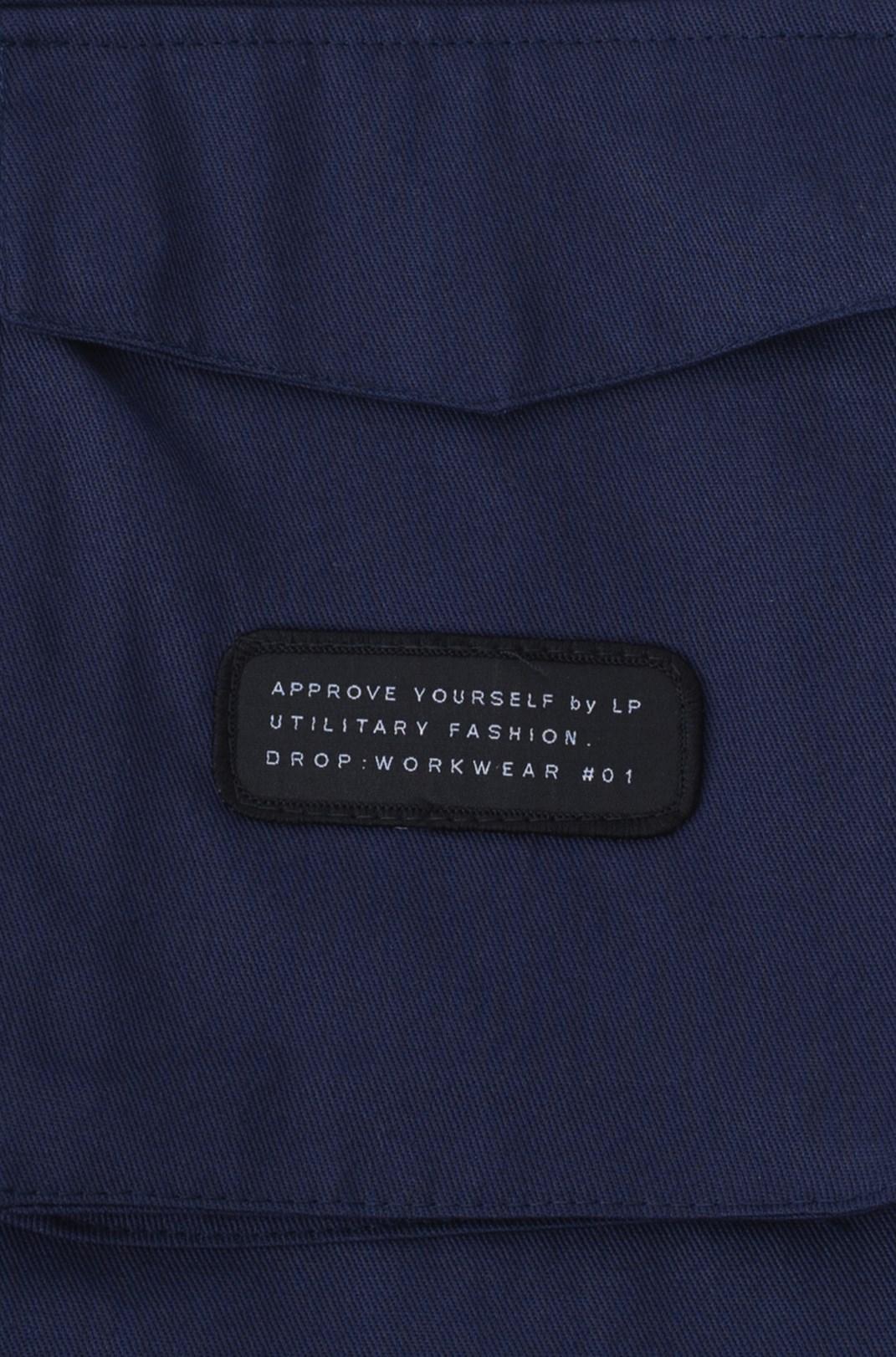 Camisa Sarja Approve Workwear Azul Marinho