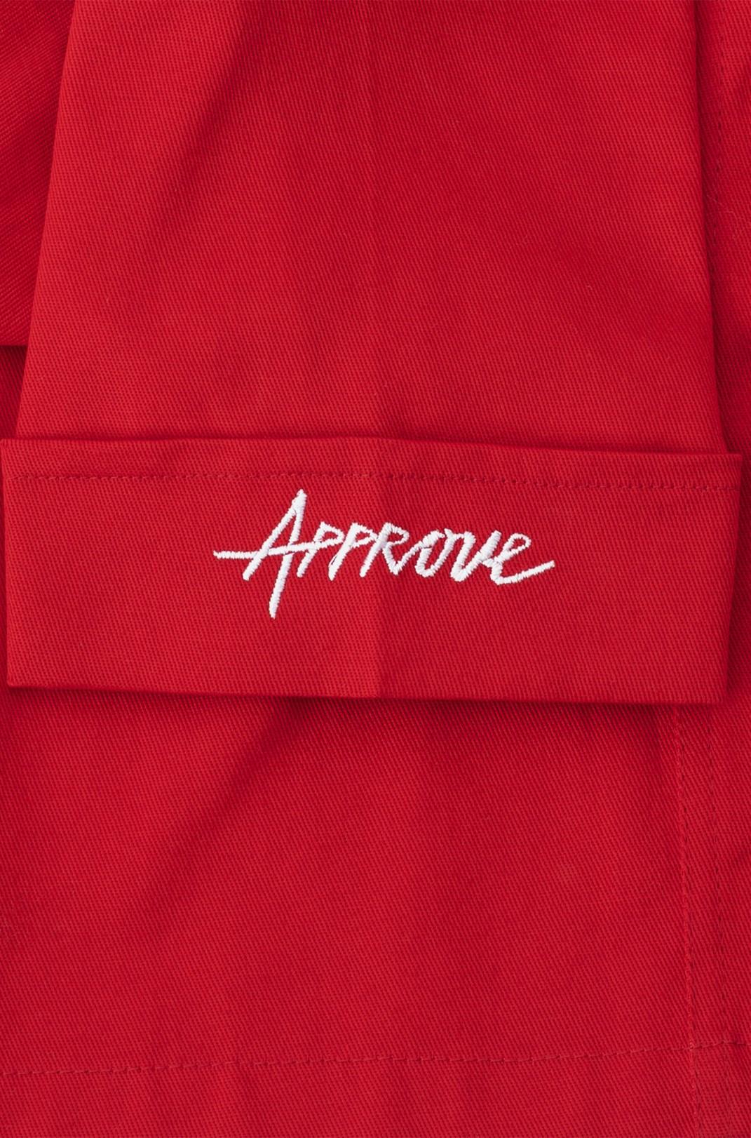 Camisa Sarja Approve Workwear Vermelha