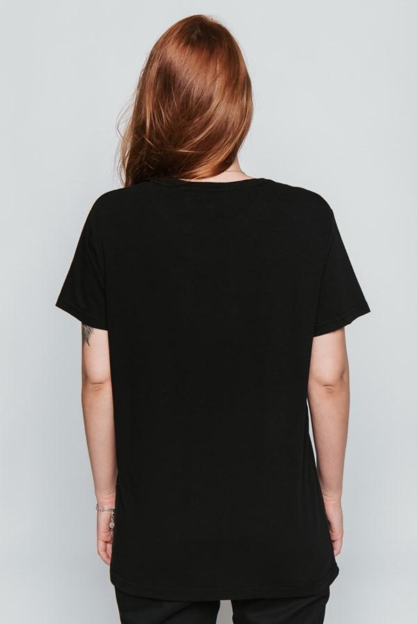 Camiseta Approve Arco-Íris Preta