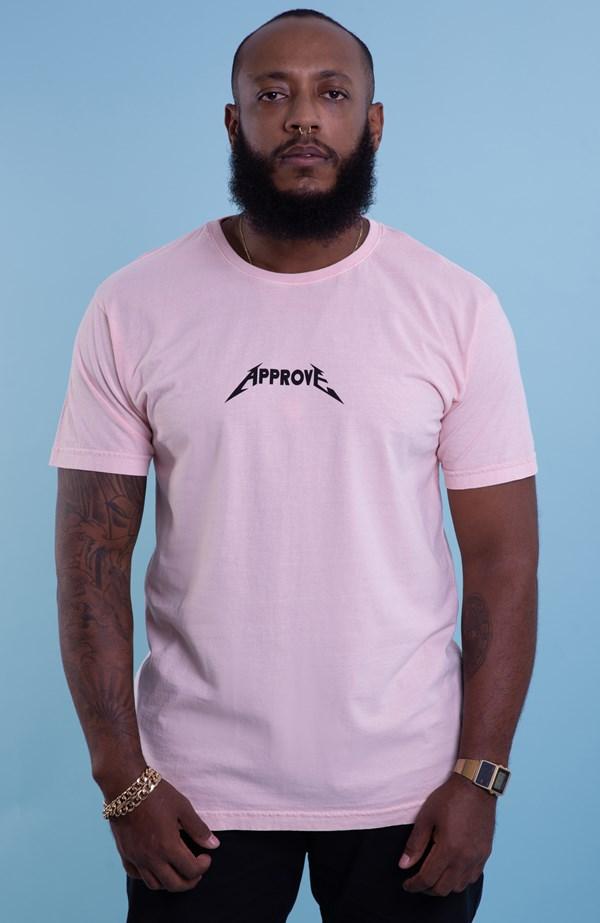 Camiseta Approve Backstage Crew Rosa