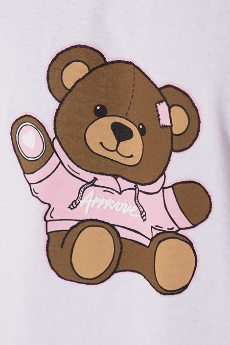 Camiseta Approve Bear by Picon Branca
