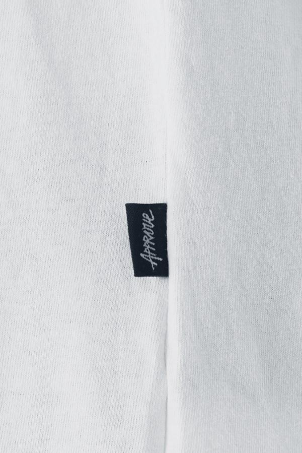 Camiseta Approve Classic Branca e Azul Marinho
