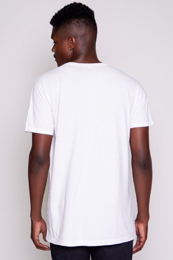 Camiseta Approve Classic Degradê Branca