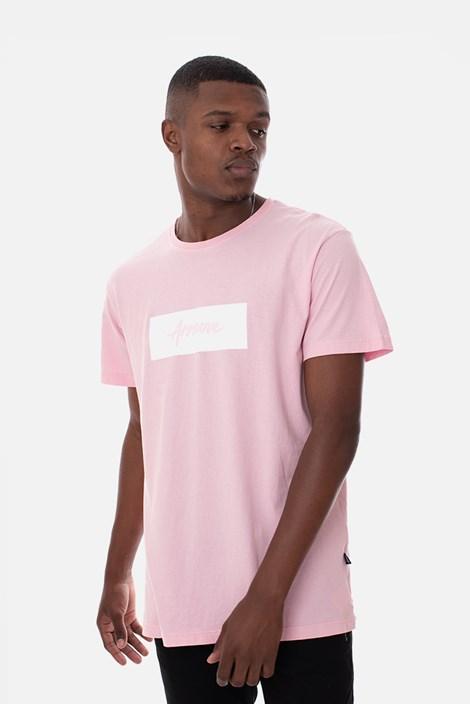 Camiseta Approve Classic Rosa e Branca