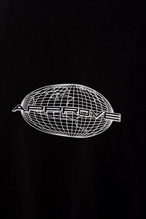 Camiseta Approve Globe Preta
