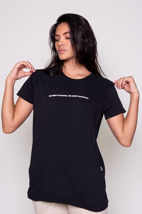 Camiseta Approve Haters Preta