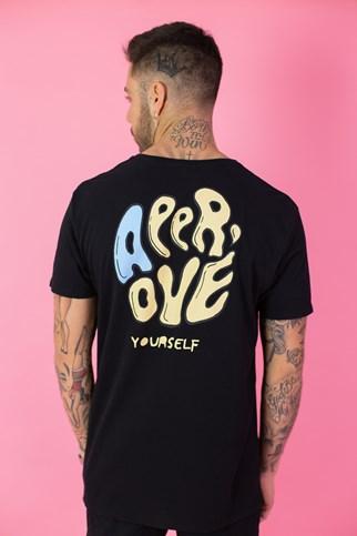 Camiseta Approve Jelly Preta